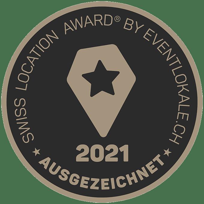 Swiss Location Award 2021_ausgezeichnet